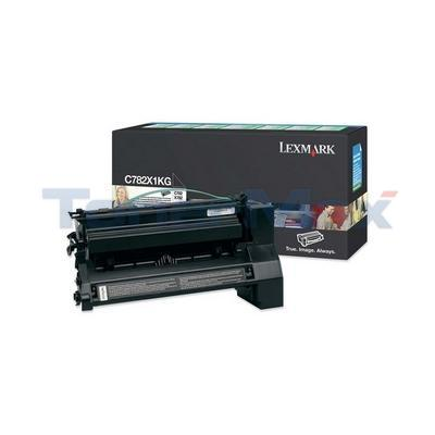 LEXMARK C782 X782 TONER CARTRIDGE BLACK RP 15K